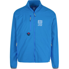 Topo Designs Sport Wind Jacket Men, blue